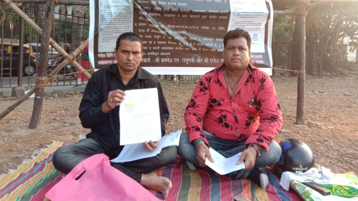 Kamlesh Khaturani and Rajesh Nagdev, citizen activists