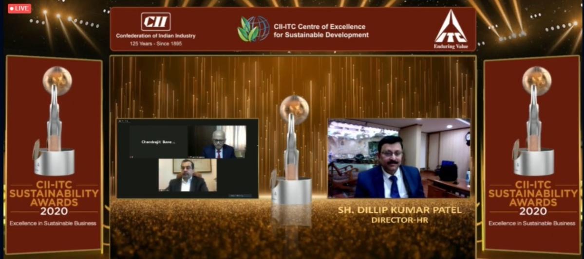 NTPC wins the prestigious CII-ITC Sustainability Awards 2020