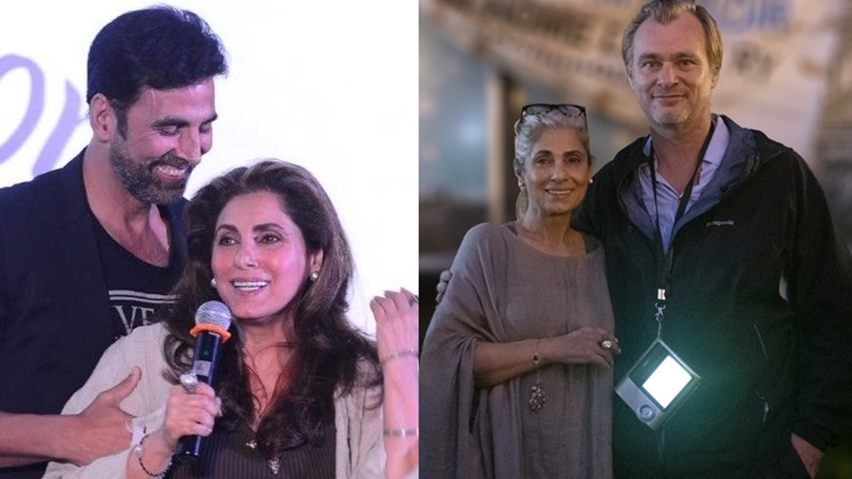 'My proud son-in-law moment': Akshay Kumar elated after 'Tenet' director Christopher Nolan pens note for Dimple Kapadia