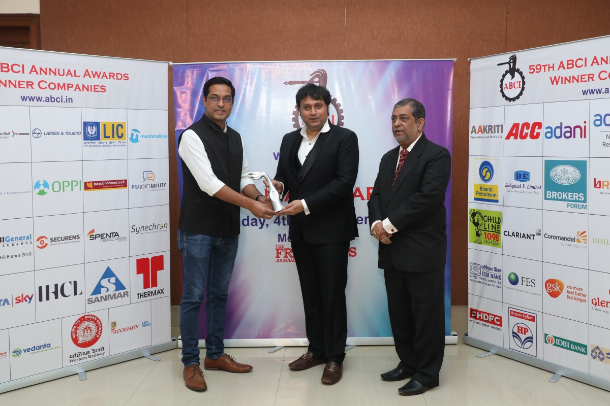 Elixir Integrated Brandcomm wins an award