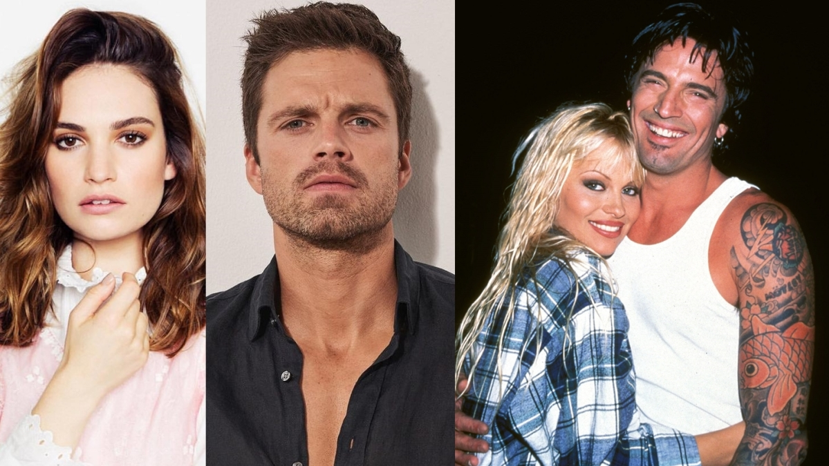 Lily James, Sebastian Stan to star in series about Pamela Anderson and Tommy Lee's sex tape scandal