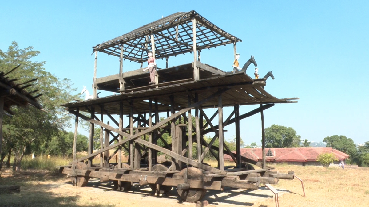 Bhopal: Dussehra Chariot of Bastar displayed in the 27th series of the online exhibition by IGRMS