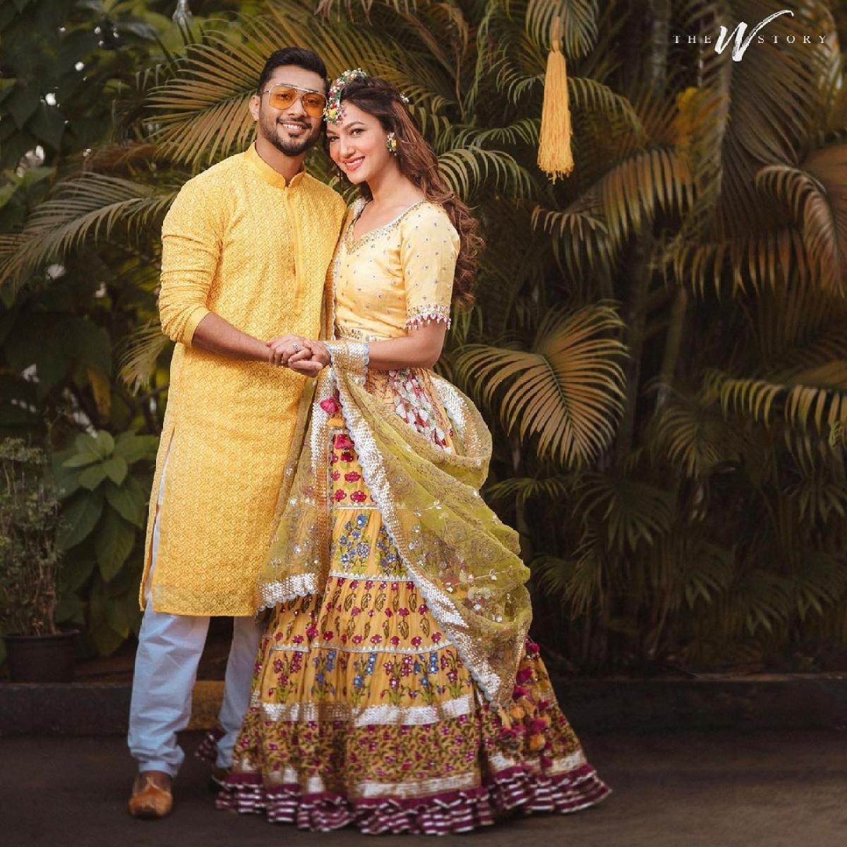 #GaZa celebrations: Gauahar Khan and Zaid Darbar share pics from pre-wedding festivities