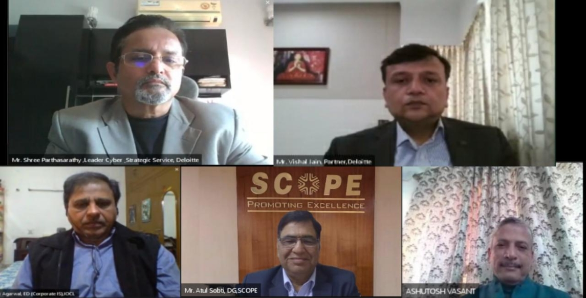 Standing Conference of Public Enterprises virtual symposium on cybersecurity in an era of work from home