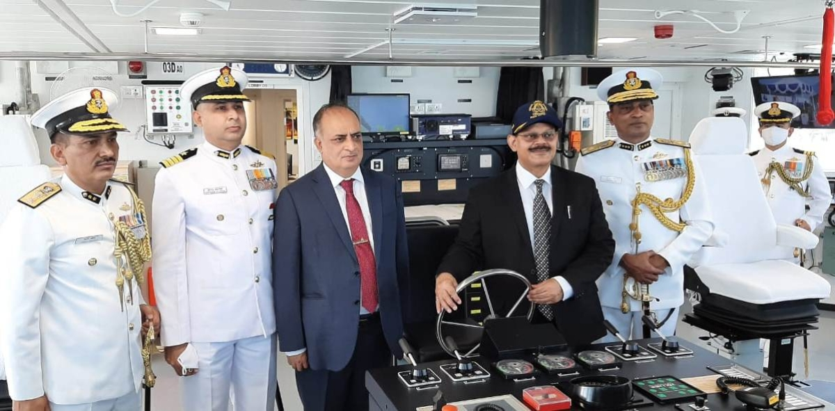 Indian Coast Guard ship 'Sujeet' commissioned in Goa
