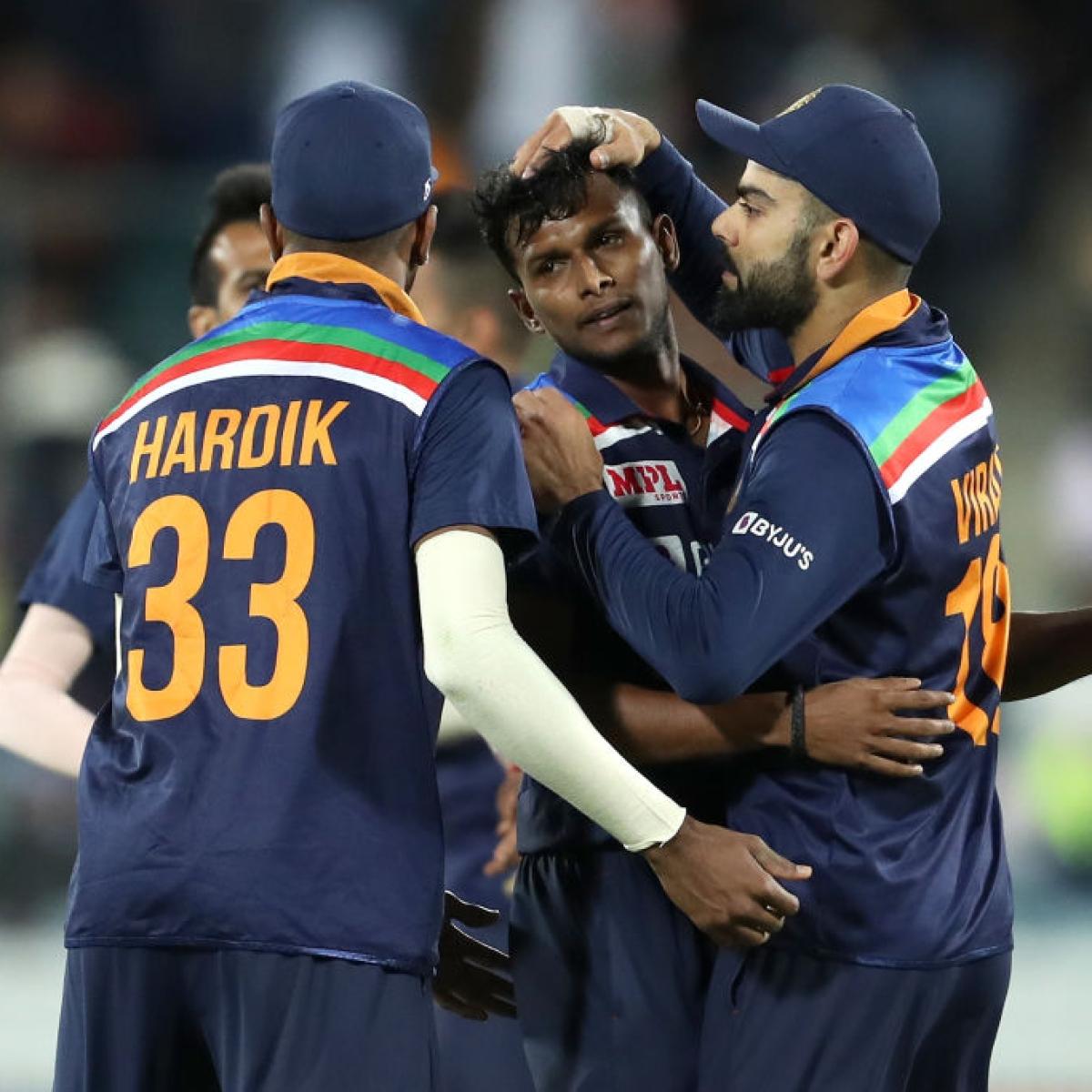 Ind vs Aus 1st T20I: Chahal, Natarajan take over after Jadeja's show to register 11-run win
