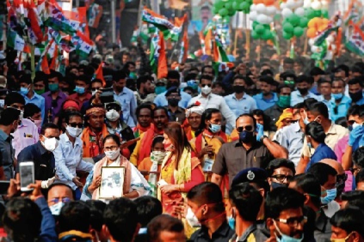 BJP not needed, Tagore has already built 'Sonar Bangla': Mamata Banerjee