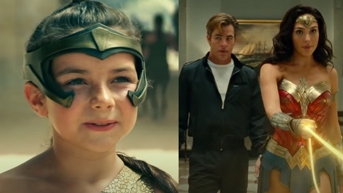 Watch: 'Wonder Woman 1984' opening scene and other exclusive clips released online