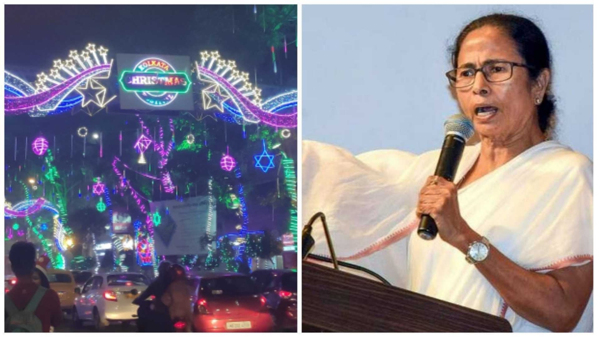 'Is there secularism in India?': Mamata demands national holiday on Christmas, accuses BJP of 'religious hatred'