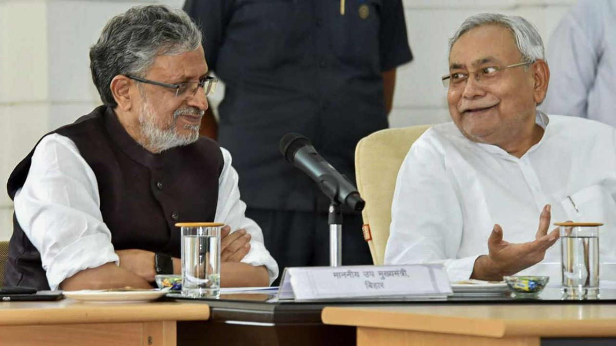Rajya Sabha Bypoll: Sushil Modi files nomination, Nitish Kumar says Bihar will benefit from his 'big role' at Centre