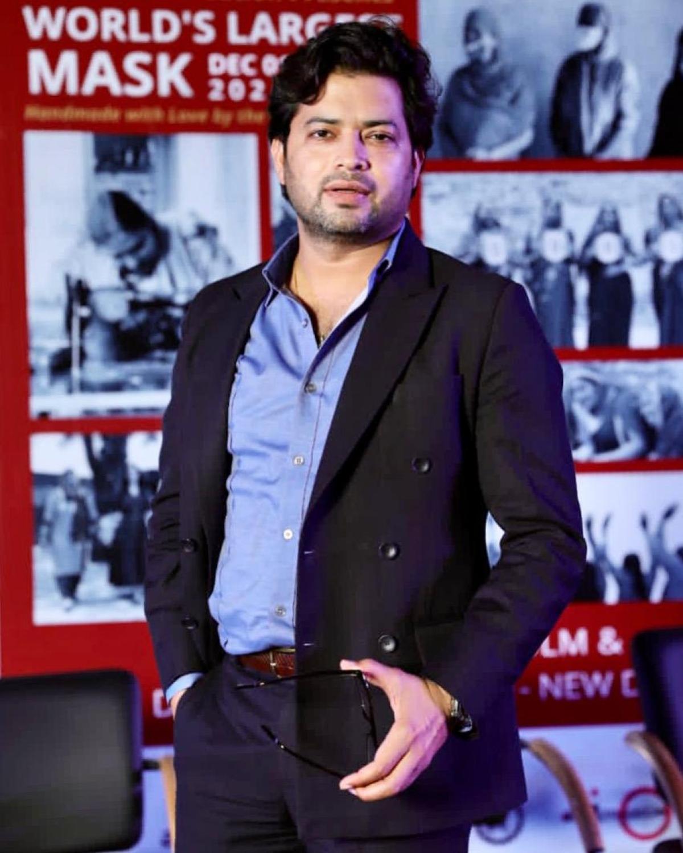 Fashion designer, Manish Tripathi