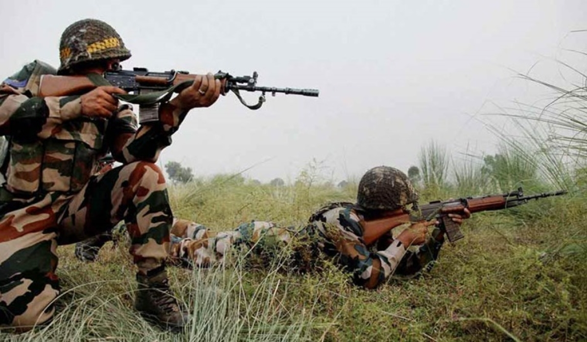 Punjab: BSF guns down two terrorists at Attari border, search operation underway