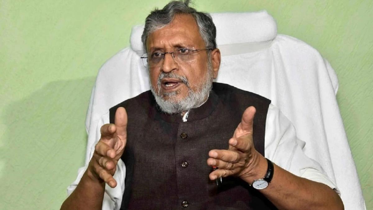 Rajya Sabha by-election: Sushil Kumar Modi set for walkover