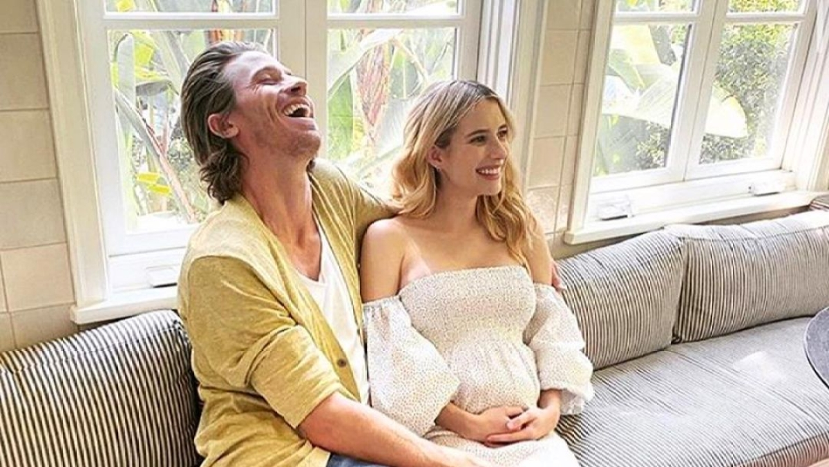 Emma Roberts welcomes baby boy with boyfriend Garrett Hedlund