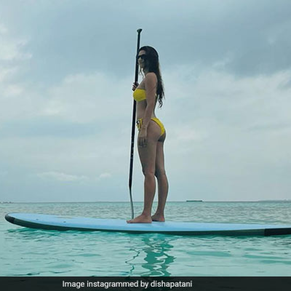 Disha Patani gives fans 'Aquaman feels' as she sizzles in a yellow bikini in latest Instagram post