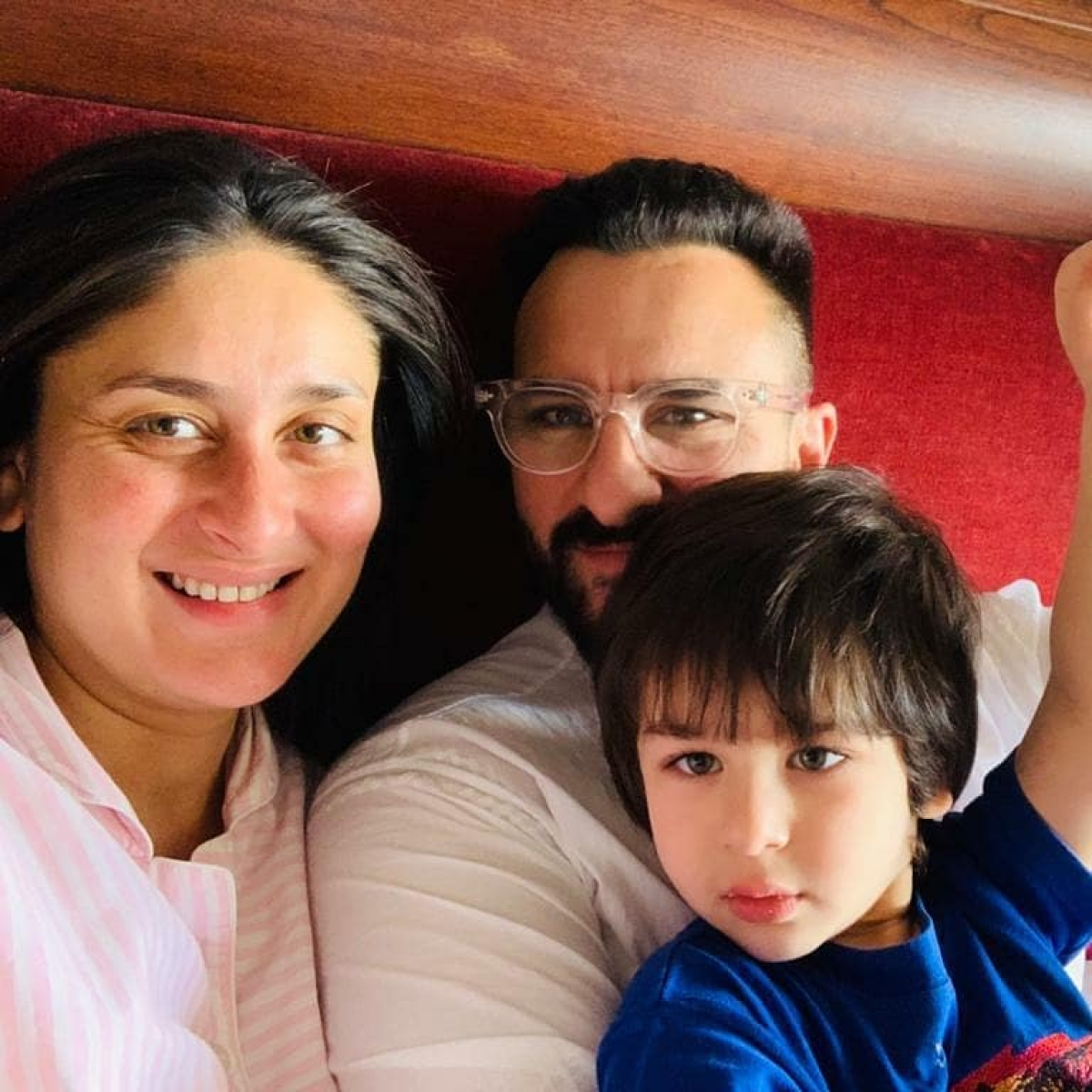 Kareena Kapoor posts pic of newborn son, but after doing THIS to his face