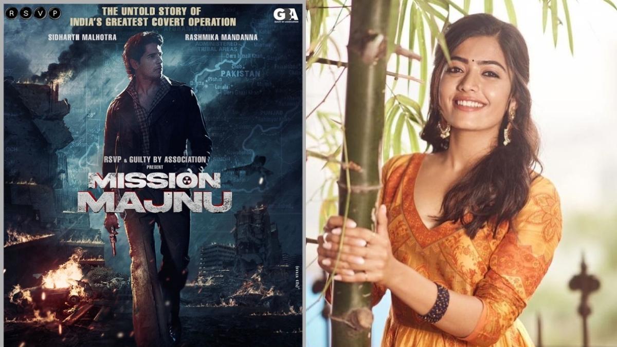 Sidharth Malhotra, Rashmika Mandanna to feature in espionage thriller 'Mission Manju'