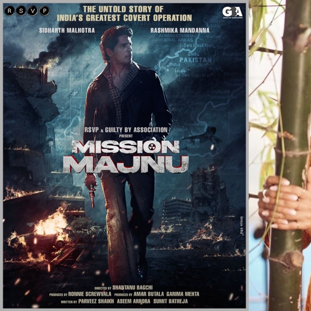 Sidharth Malhotra, Rashmika Mandanna to feature in espionage thriller 'Mission Manju'