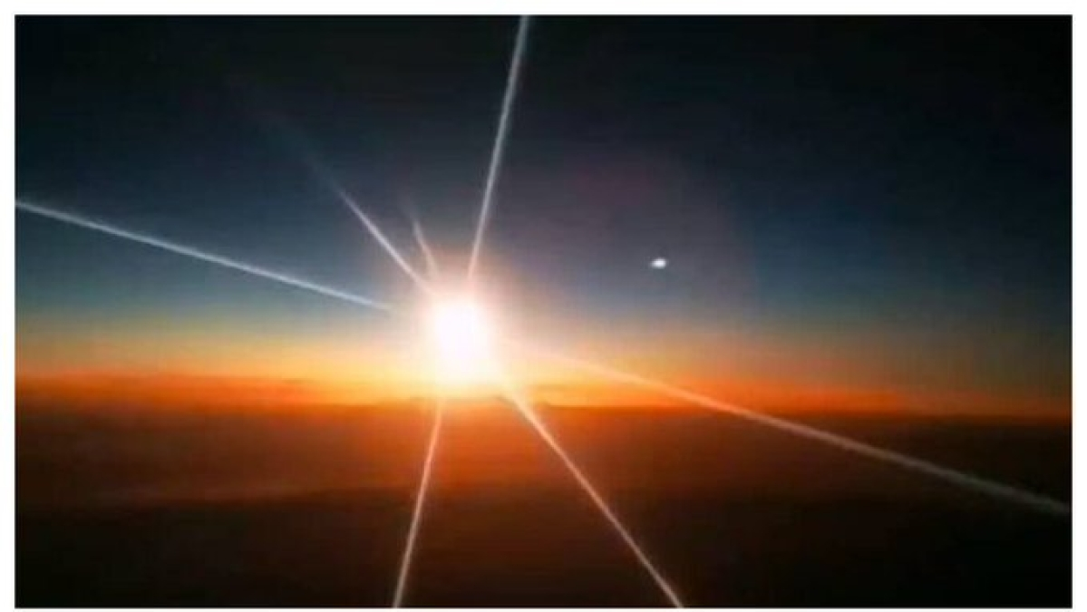 Watch: Giant fireball falls from the sky in China's Yushu City