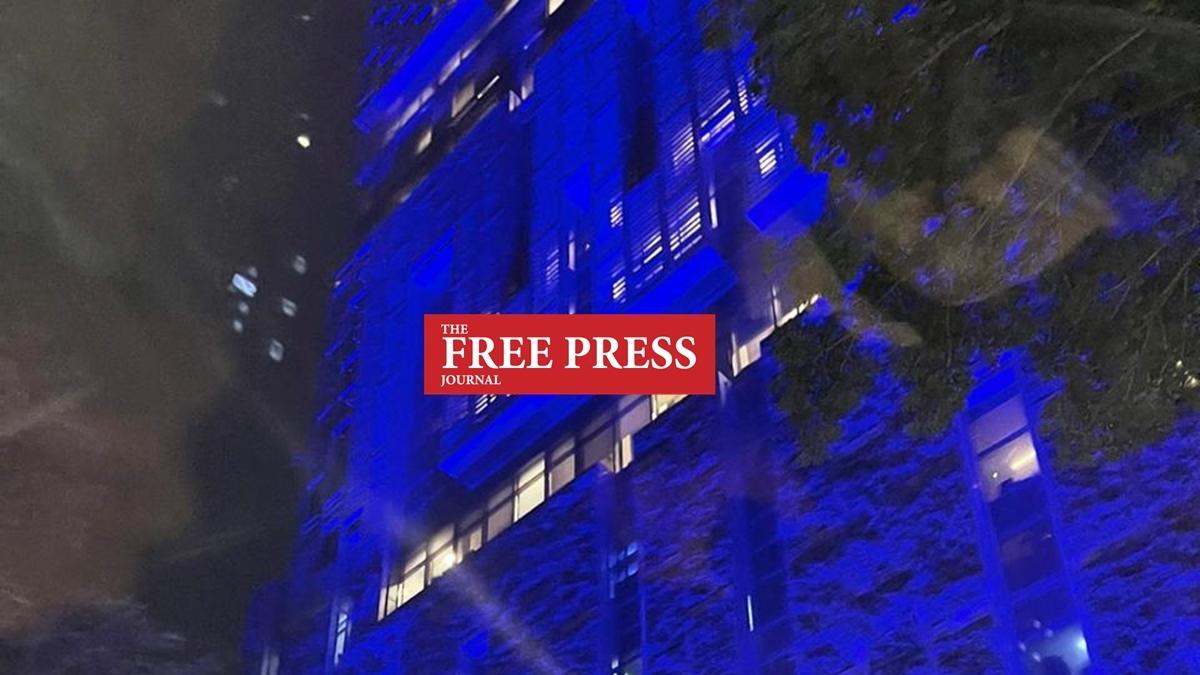 Exclusive: Mukesh Ambani's Mumbai residence Antilia turns blue as Akash-Shloka welcome baby boy