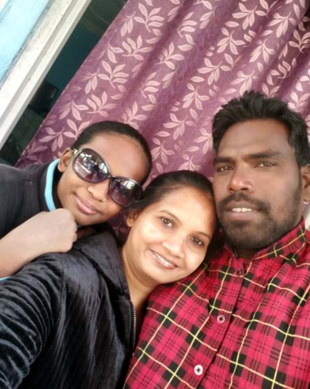Namita Pani with family