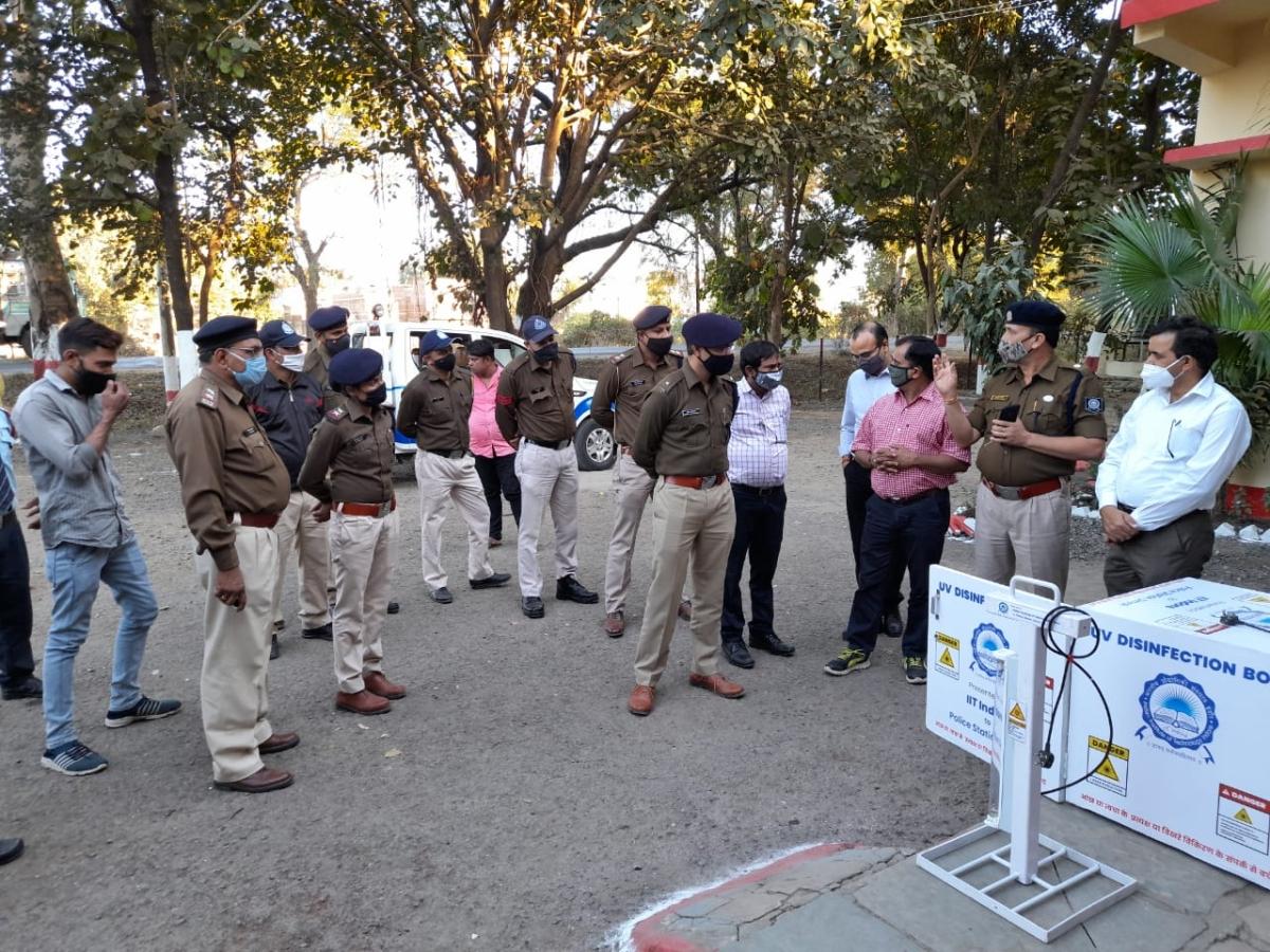 Madhya Pradesh: IIT Indore donates UV disinfection facility to primary health centre, police station