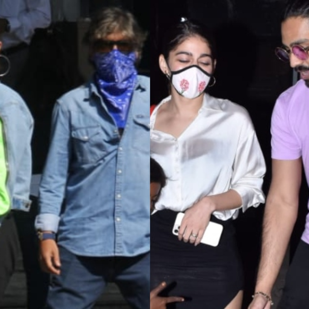 In Pics: Alia Bhatt jets off to shoot 'RRR'; Alaya F steps out with Bal Thackeray's grandson Aaishvary