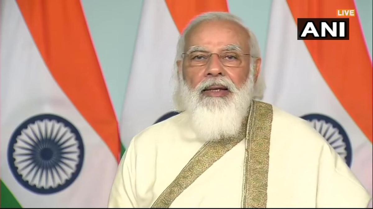PM Modi addresses AMU's centenary celebrations
