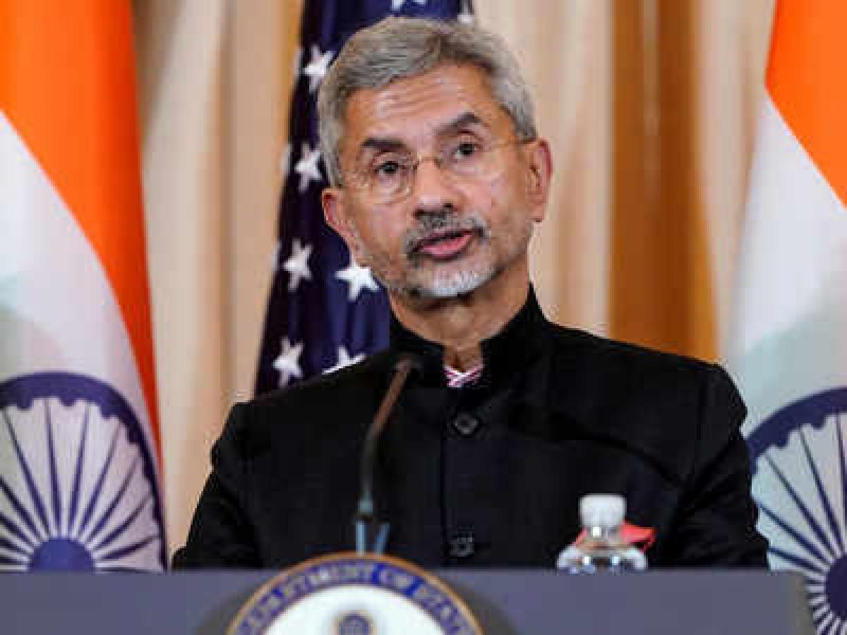 Border standoff with China tested India's national security: S Jaishankar