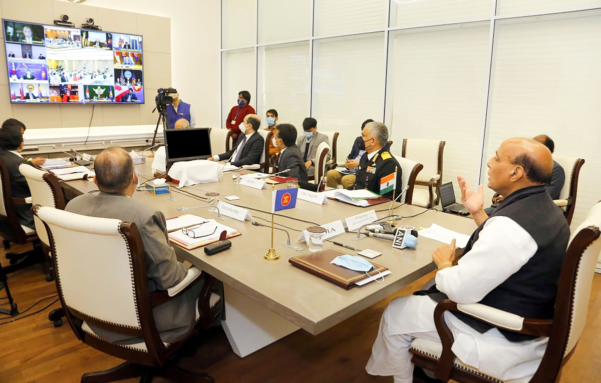 Rajnath Singh calls on ASEAN Defence Ministers to combat threats of bio-terrorism in the region