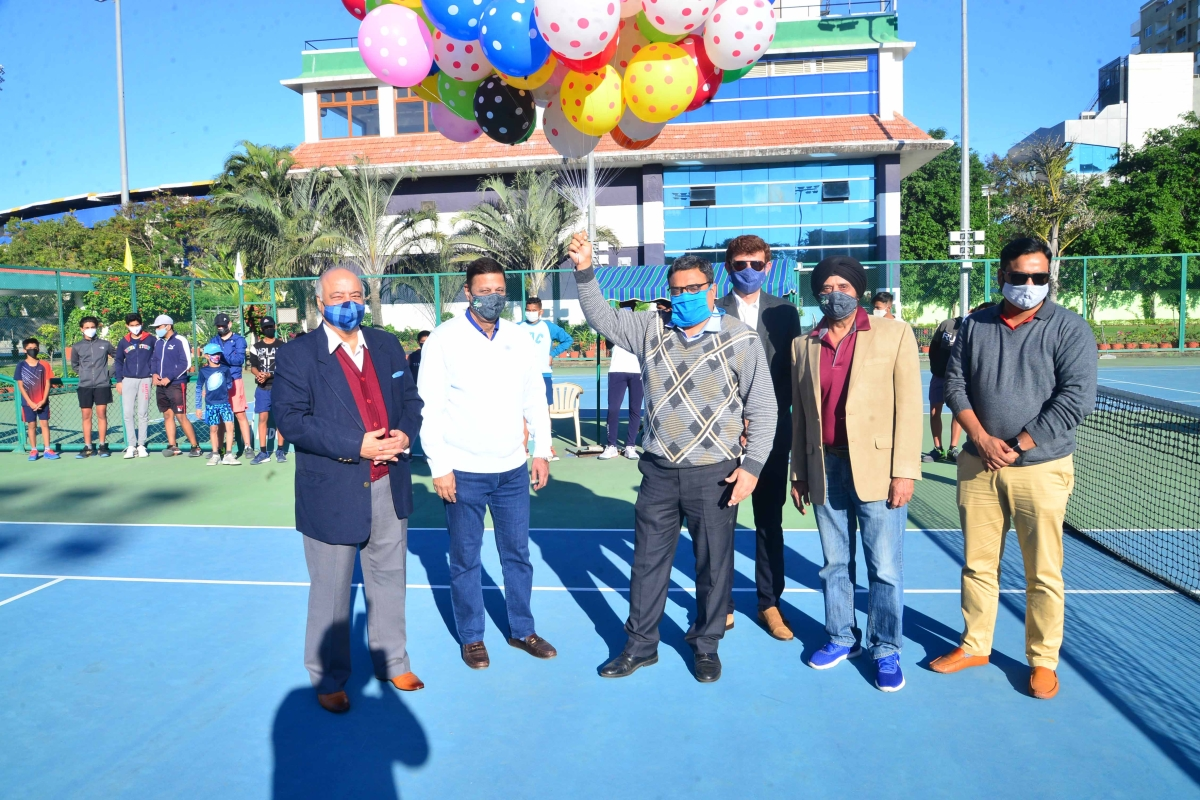 Indore: Manan, Sourish, Parkaram reach pre-quarterfinals of Puneet Agarwal Memorial second state-level tennis tournament