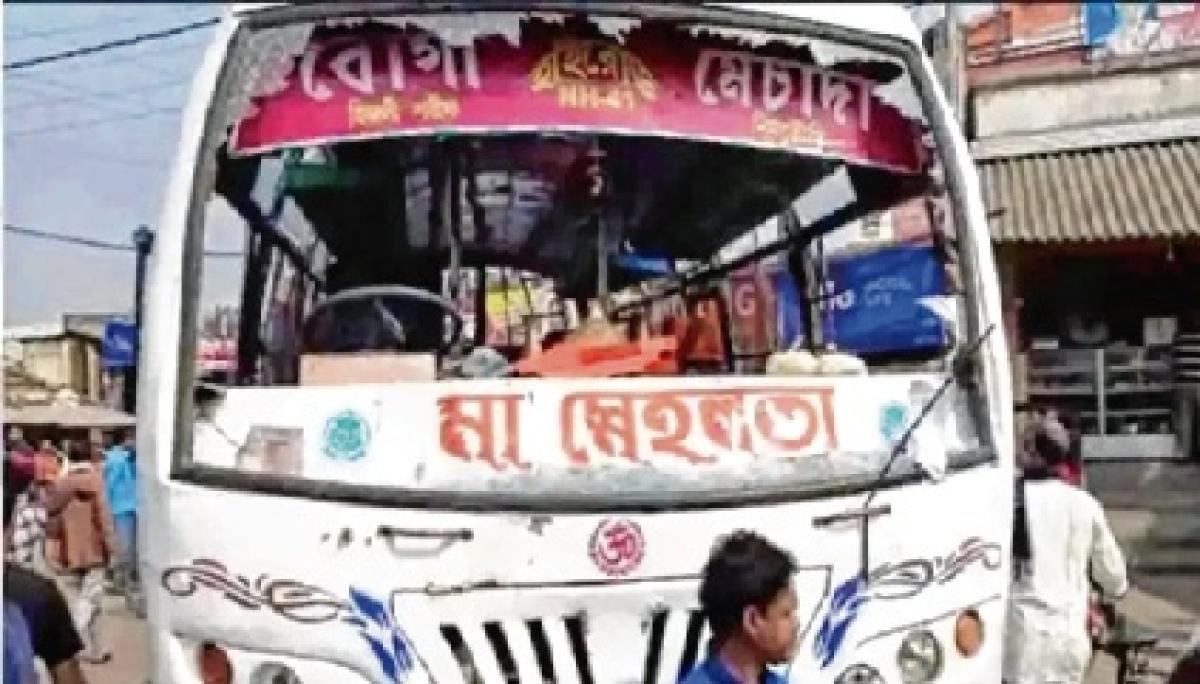 Suvendu Adhikari attacked at Nandigram