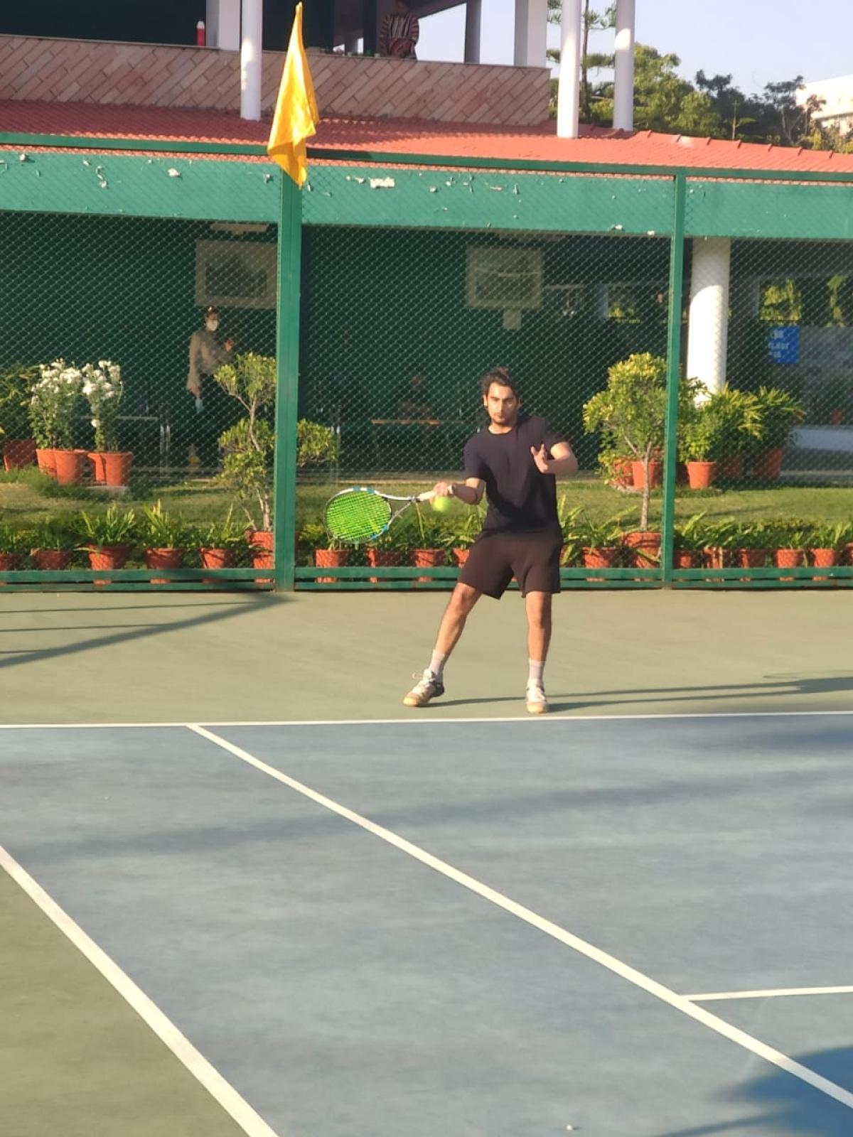 Indore: Abhiyansh, Shourya and Shikhar selected for main rounds of Puneet Agarwal Memorial tennis tournament