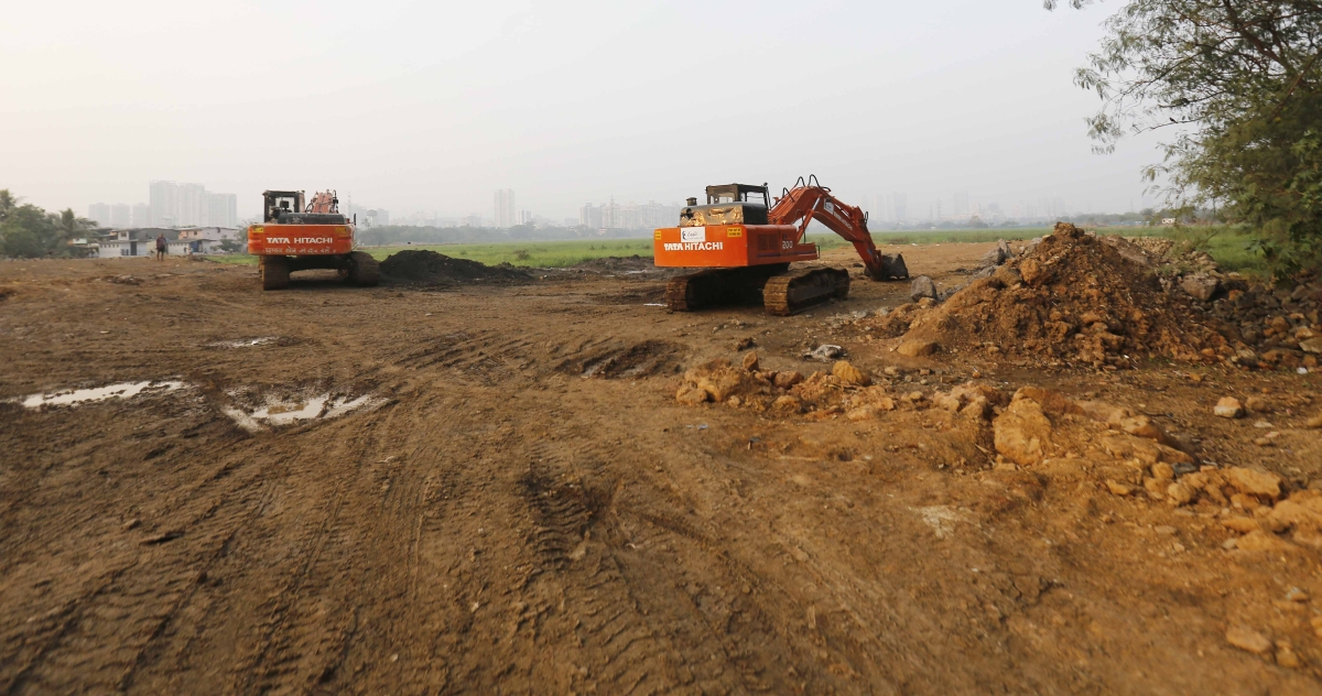 Metro 3 carshed: War of word between Congress and BJP continues over Kanjurmarg land