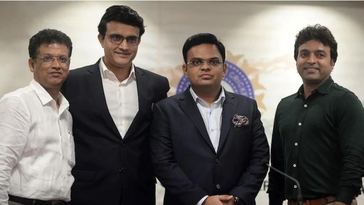 The BCCI team