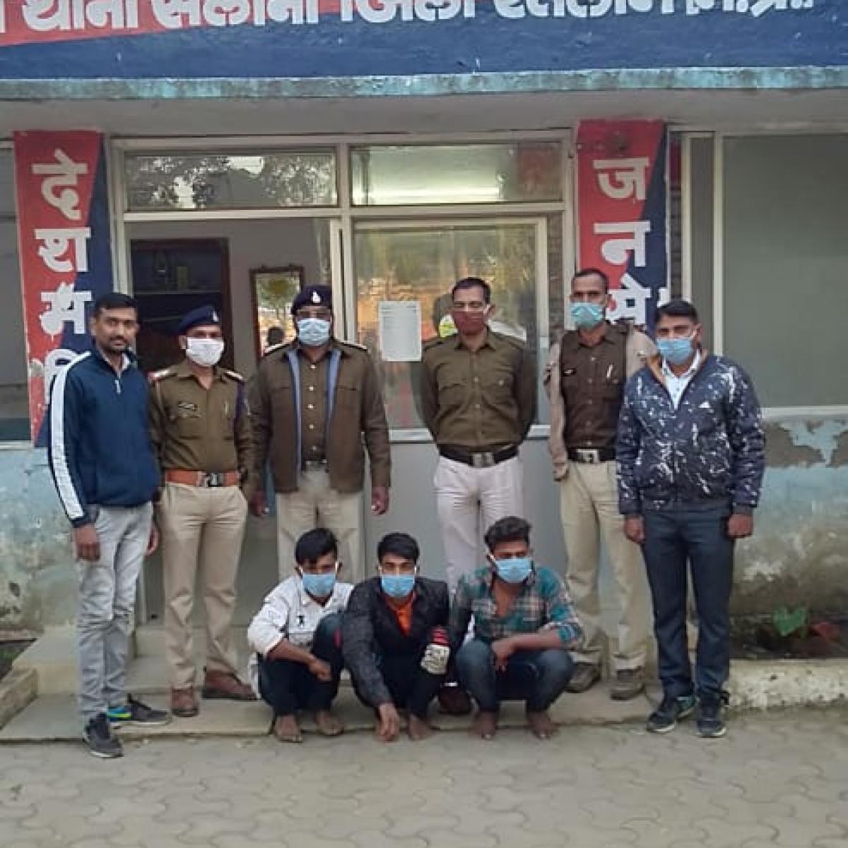 Madhya Pradesh: 3 held for theft at Dr Deepak Joshi's residence in Sailana