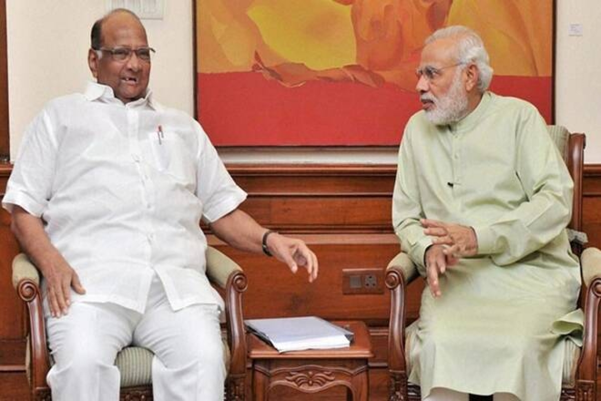 Sharad Pawar turns 80 - When PM Modi said NCP supremo handheld him during his early days in politics
