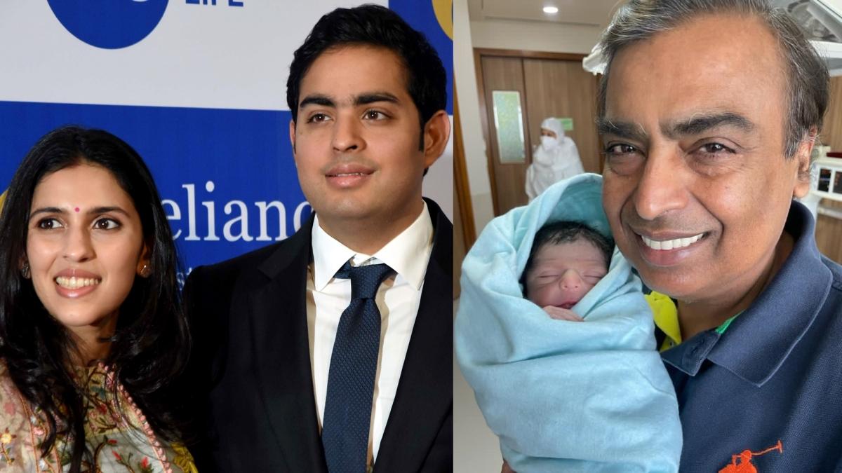 Akash and Shloka name their new-born son 'Prithvi Akash Ambani' – what does it mean?