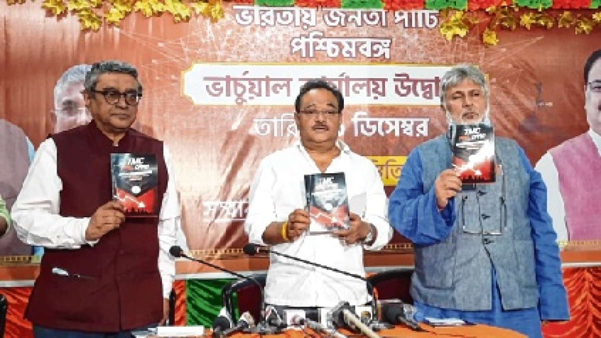 BJP launches 'TMC fail card' to counter TMC 'report card'