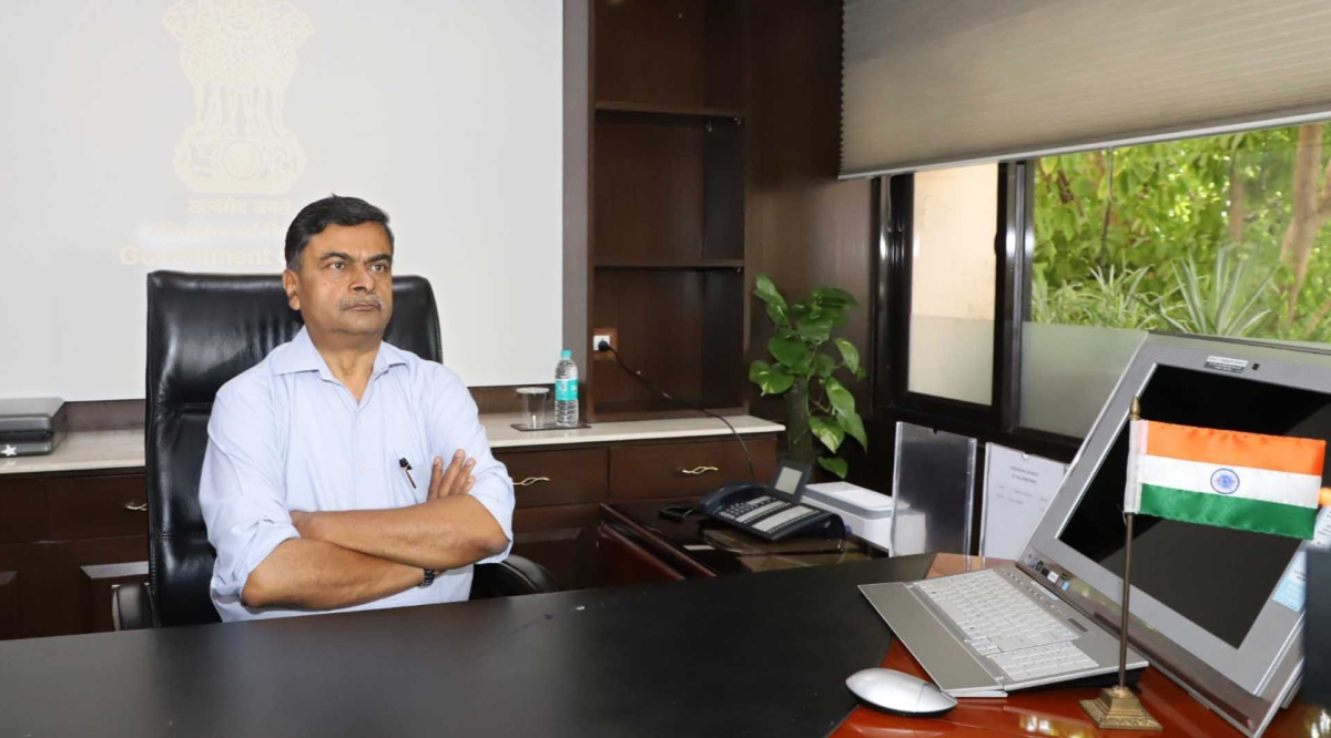 Power Minister R K Singh