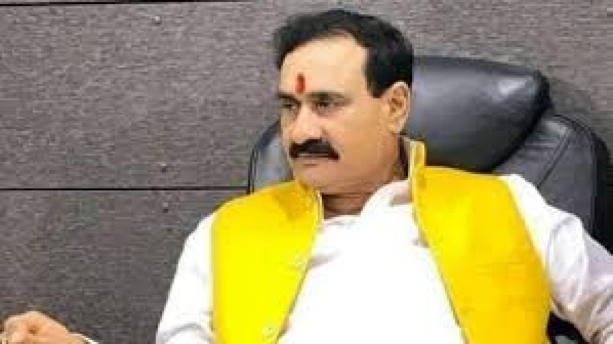 State home minister Narottam Mishra
