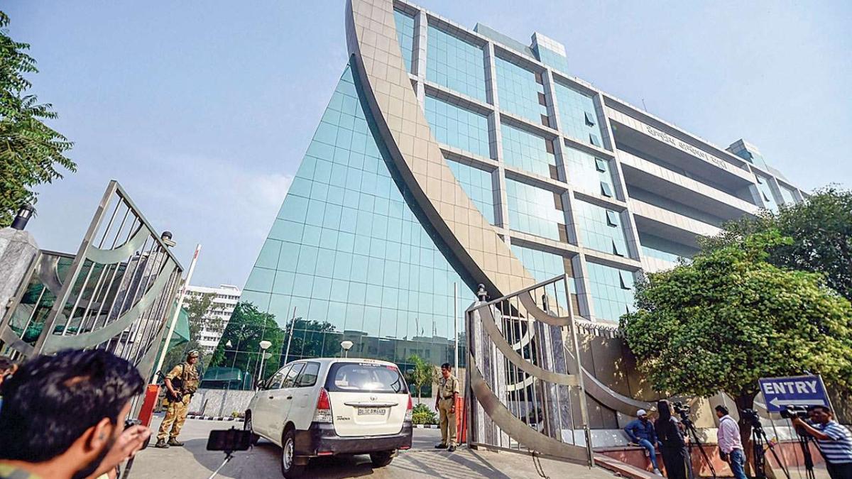 CBI headquarters in Delhi