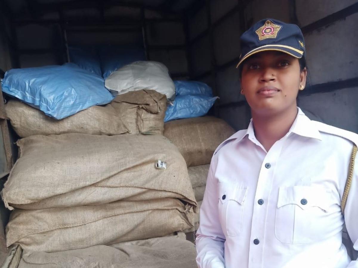 Traffic constable Bhagyashree Jagtap