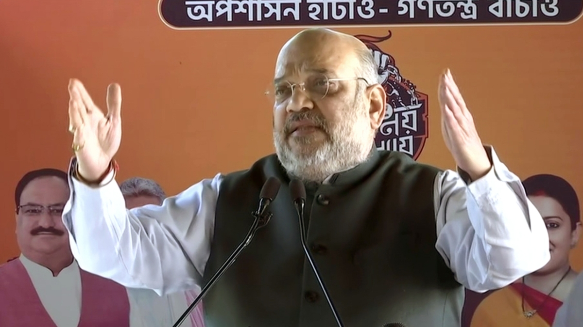 No one except Mamata will be left in TMC, her govt only works for 'nephew welfare': Amit Shah at Howrah rally