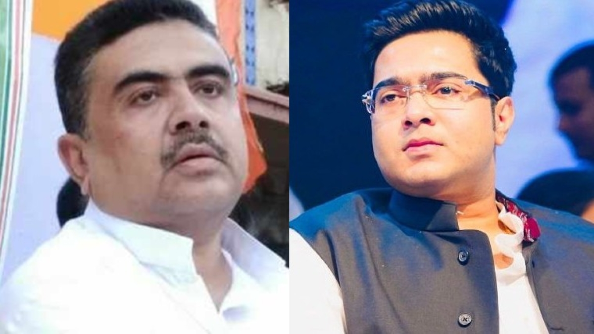 From 'scam-tainted' to 'extortionist', war of words continue between Suvendu Adhikari and Abhishek Banerjee