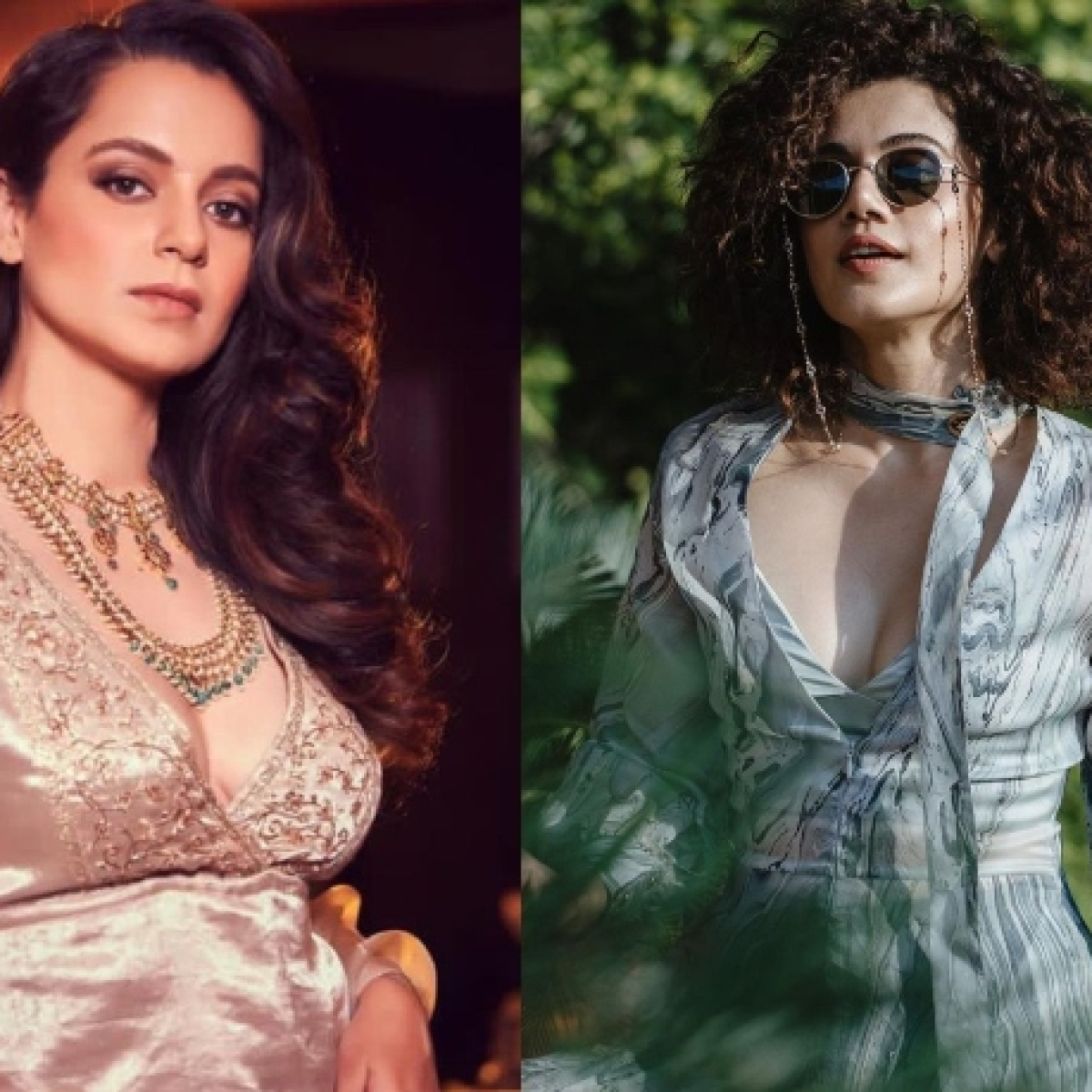Kangana Ranaut reignites feud with Taapsee Pannu, latter shares a cryptic post on jealousy