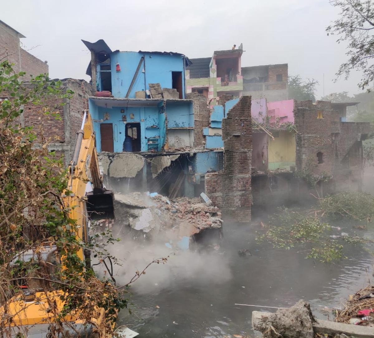 IMC demolition of illegal structure