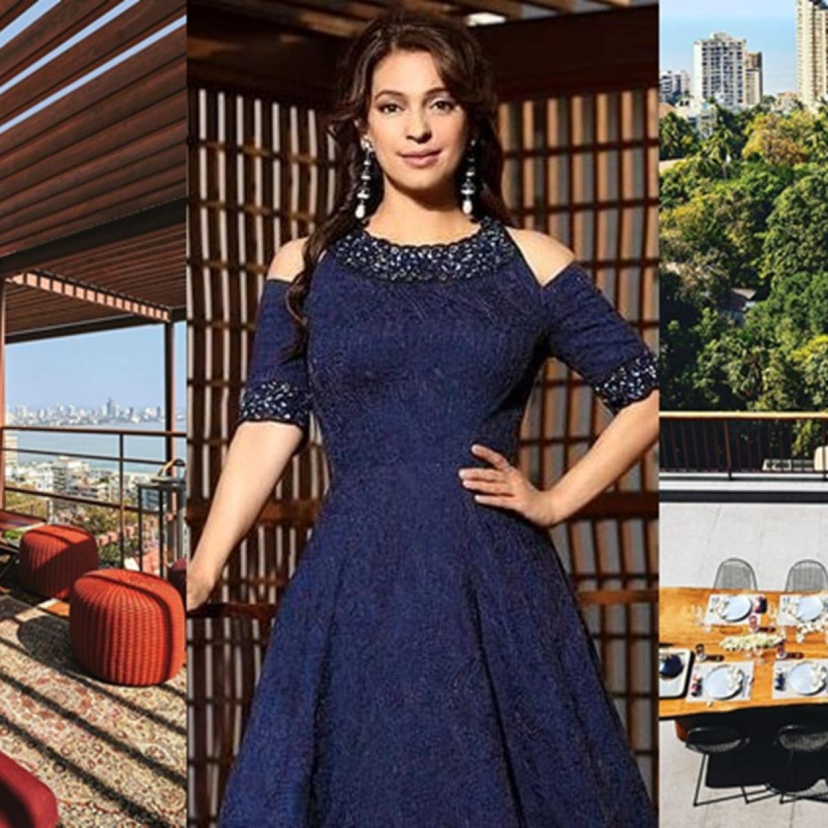 In Pics: Check out Juhi Chawla's lavish multi-storey home in Mumbai's Malabar Hill