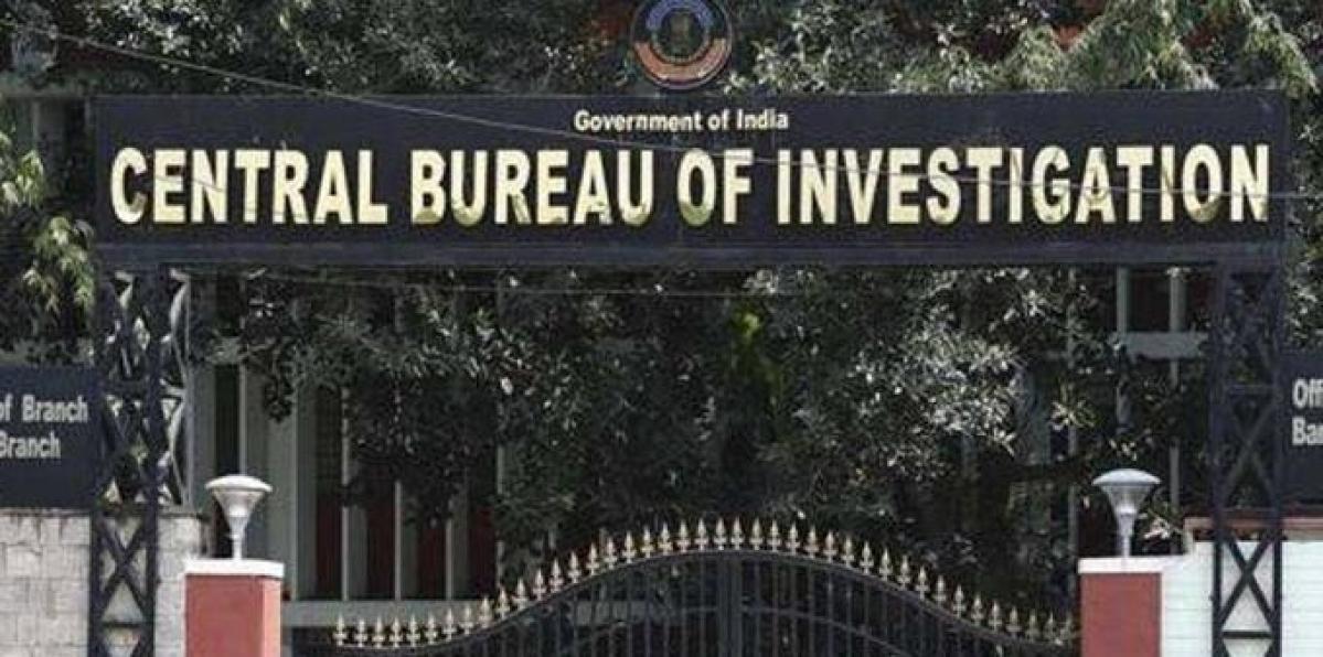 Corruption case: CBI suspends inspector, steno