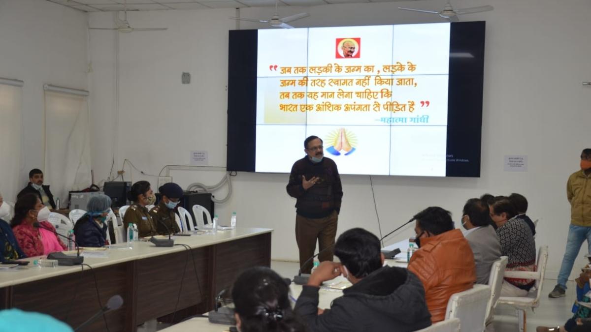 Participants attend workshop